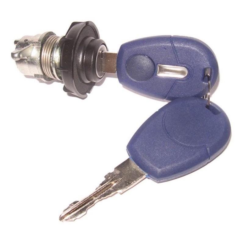 Back Cylinder W/ Keys