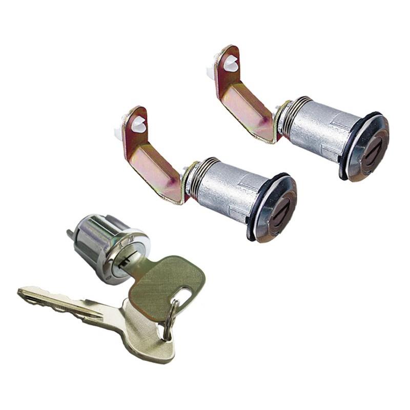 Cylinder set with ignition keys/doors